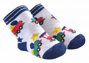 Baby Train Socks