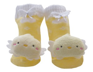 Baby Ruttle Socks Duck 12Months