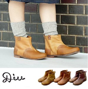 Short Boots Di Ladies Shoe Shoe Genuine Leather Leather