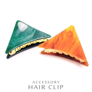Triangle Hair Ban Clip Moist Color