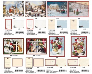 LANG Christmas Card Color Envelope Attached