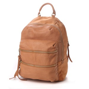 Cow Leather soft Nylon Backpack