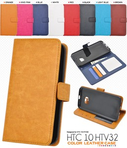 Smartphone Case 8 Colors Tea Color Leather Case Pouch