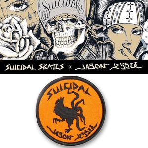 "SUICIDAL×J.JESSEE  ROOSTER 3"" PATCH  15218"