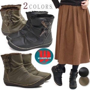 Short Boots Ladies Wilson Toggle Flat Life Waterproof
