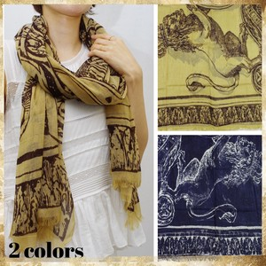 Significantly Wool LION Wool Lion Shawl Scarf Stole