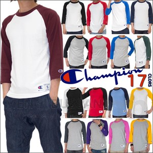 Champion Usa Three-Quarter Length Baseball T-shirt