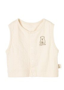 Organic Cotton Baby Double Gauze Vest