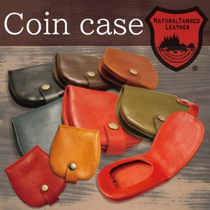 Tochigi Leather Series Horseshoe Coin Case Coin Purse Cow Leather