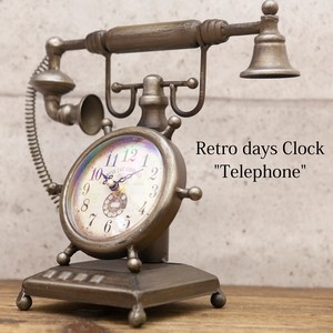 Table Clock Retro Days Clock Phone