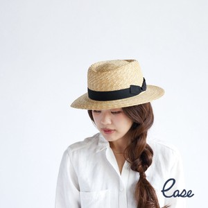 Hats & Cap Straw Pork Pie Hat Round Ribbon
