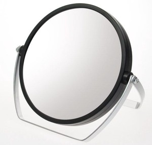 Magnifying Glass Attached Both Sides Stand Alone Mirror