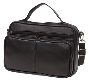 Artificial Leather Men's Horizontal Shoulder Bag