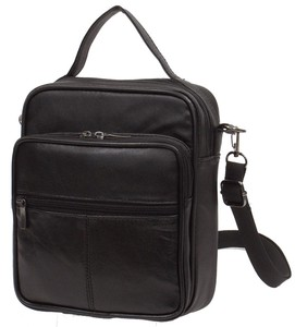 Artificial Leather Men's Shoulder Bag
