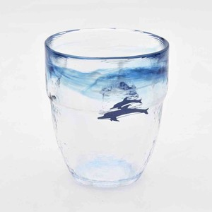 Tsukiyono Kobo Seifu Impression Glass Collection Dolphin