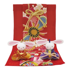 Flower Alley Rabbit Hina Doll Seasonal Festival