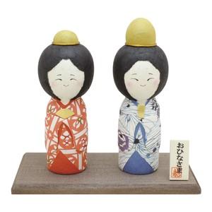 型染め和紙 京こけし雛   [雛人形・桃の節句]