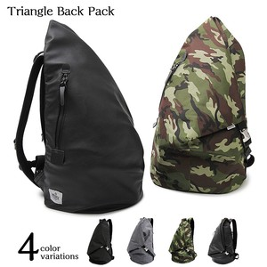 Nylon Triangle Backpack Travel Bag