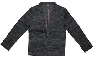 Camouflage Button Jacket