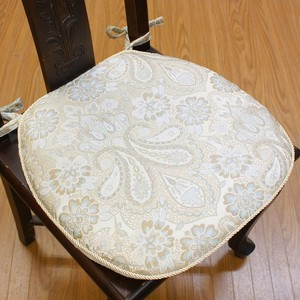 Paisley Card Horseshoe Cushion