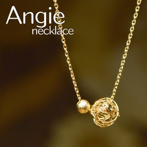 Ball Short Gold Necklace