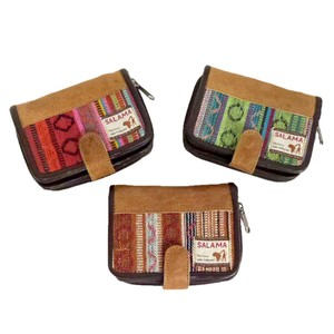 Leather Cotton Leather Patch Wallet Village Leather