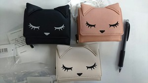 Cat Face Trifold Wallet