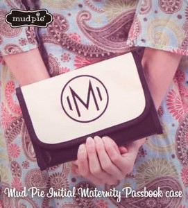 Mud Pie Mud Pie Initial Notebook Case