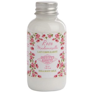 INSTITUT KARITE インスティテュート カリテ Rose Mademoiselle Travel Shea Body Milk 50ml
