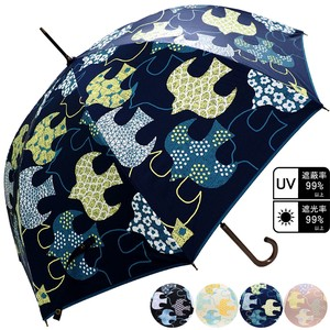 Unisex Bird One push Umbrellas Cut