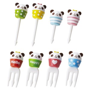 Bento (Lunch Box) Product Cup Panda Bear Pick Set