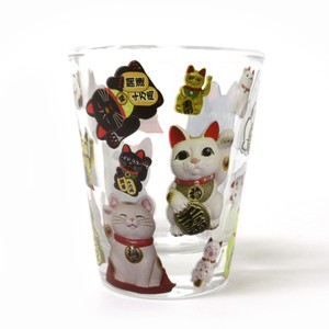 Japanese Style Pattern Japanese Pattern Series Glass Glass Beckoning cat