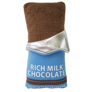 Love Pets Rich Milk Chocolate / A fun chocolate bar-shaped dog toy