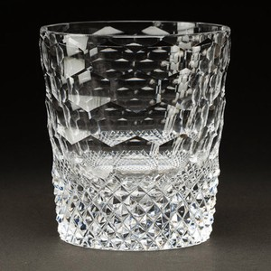 Edo-kiriko Cut Glass Tortoise Shell Old Distilled Spirit