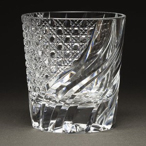 Edo-kiriko Cut Glass Octagon Old Distilled Spirit