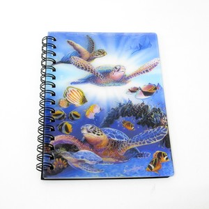 Stationery Ring Notebook Ocean Sea Turtle Tropical Fish