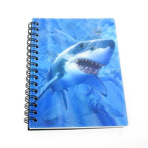 Stationery Ring Notebook Shark