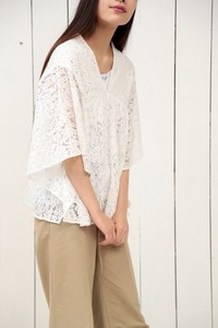 Lace Poncho Pullover