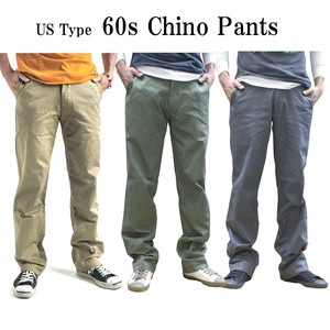 Type Chino Pants One Wash 3 Colors