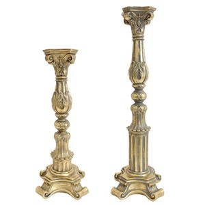 Candle Stand Candle Stand Antique Gold