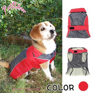 Light Raincoat Plain Water-Repellent Processing Dog Wear