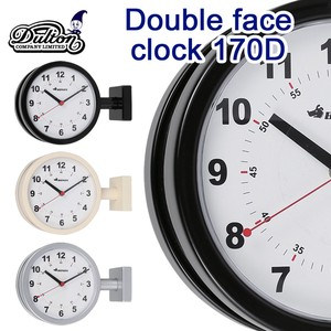 DOUBLE FACE CLOCK 170D