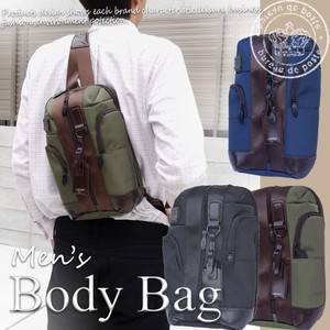 Men's Body Bag Backpack