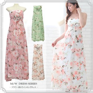 Appreciation Resort Long One-piece Dress Resort One-piece Dress Flower Casual