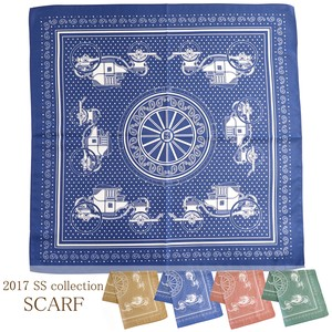 S/S Scarf Horse-Drawn Carriage Scarf