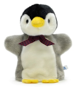 Soft Toy Dance Baby Penguin Hand Puppet