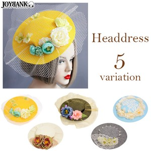 Beret Flower Head Dress
