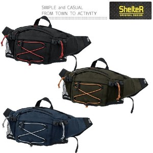 SHELTER Color Rubber Hip Bag