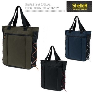 SHELTER Color Rubber Tote Bag B4