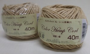 Color hemp Coat Natural Ecru